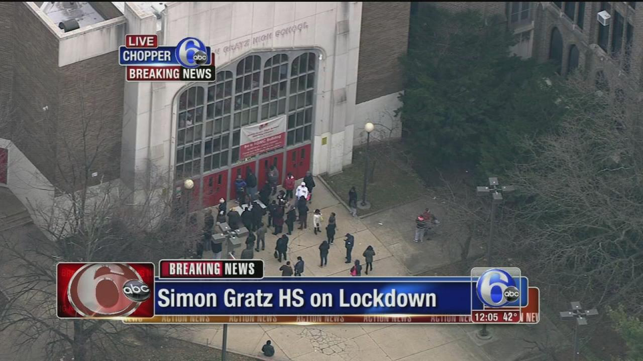 VIDEO: Gratz High School locked down