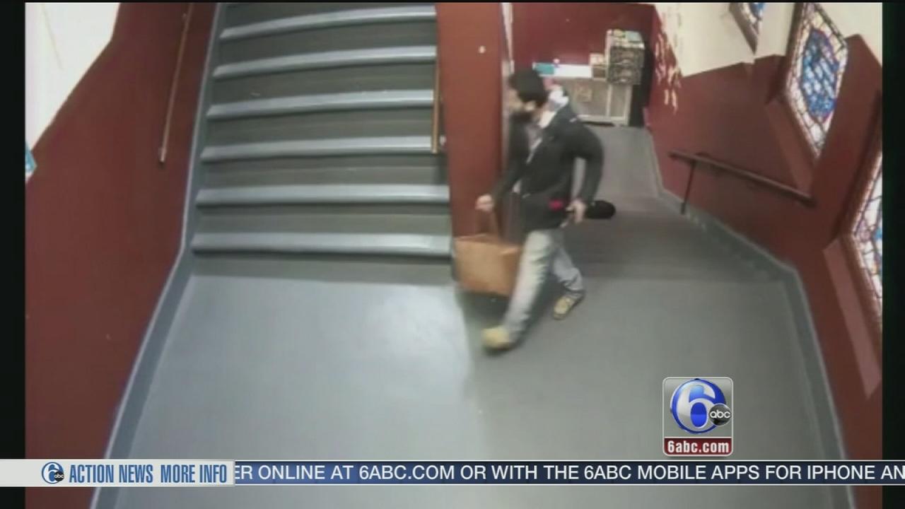 VIDEO: Good Samaritan targeted by purse thief