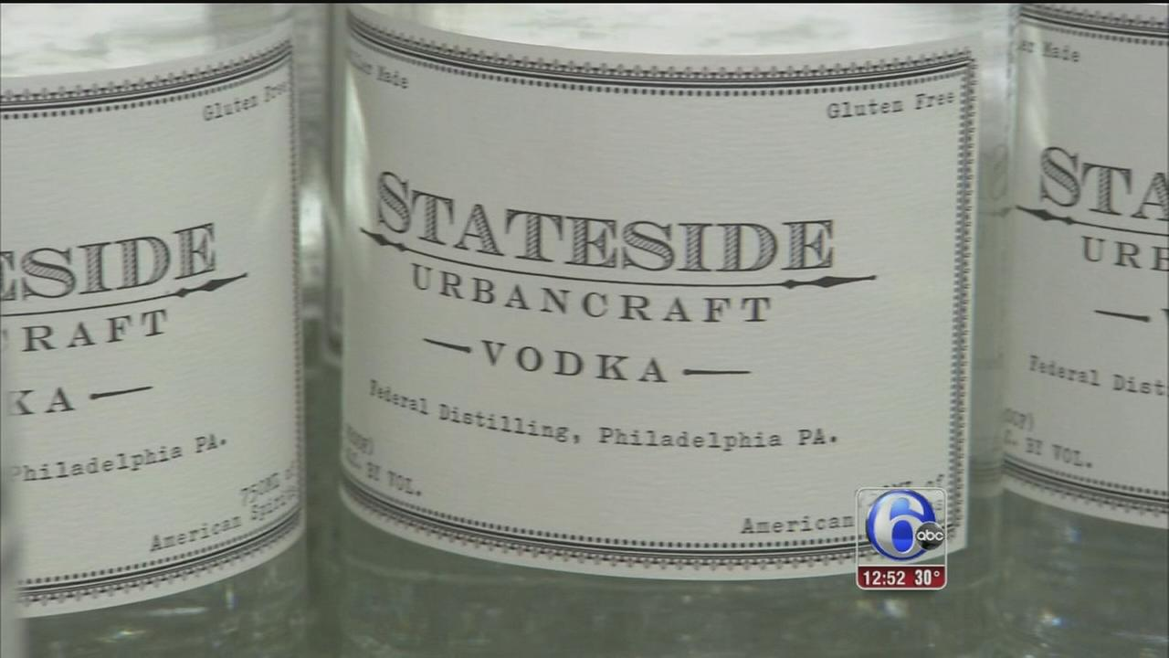 VIDEO: Brothers start distillery in Philadelphia