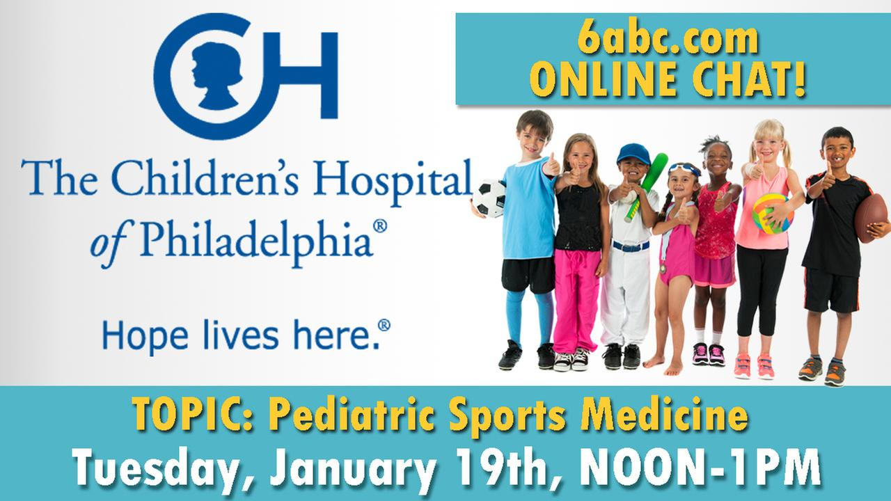 Chat with CHOP on Tuesday, January 19th - TOPIC: Pediatric Sports Medicine