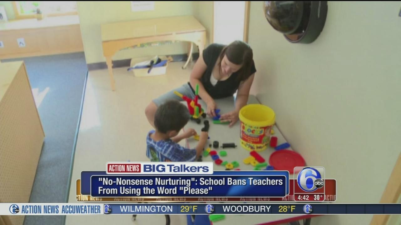 VIDEO: School bans teachers from saying please