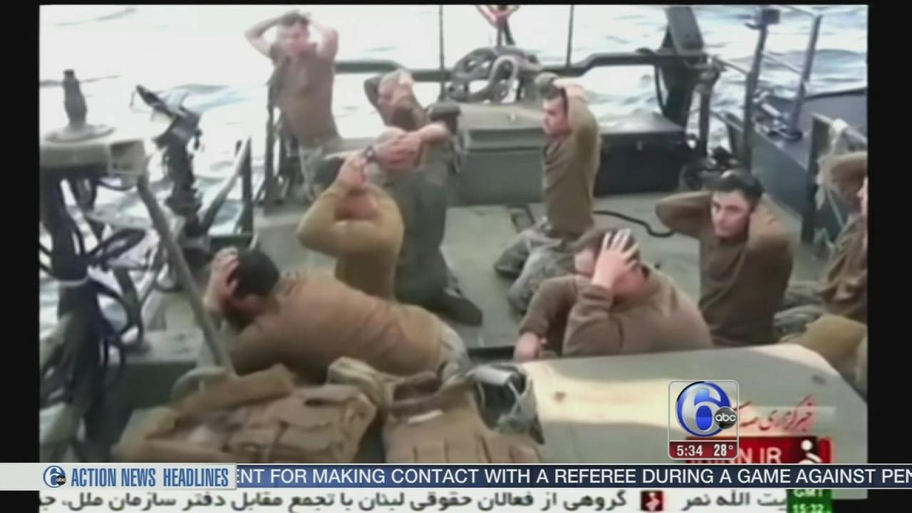 VIDEO: Sailors held by Iran released
