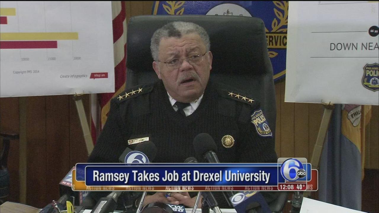 VIDEO: Ramsey joins Drexel Univ.