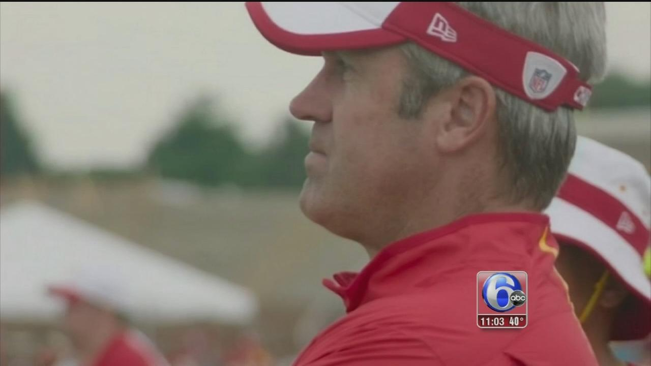 VIDEO: Fan reax - Eagles head coach