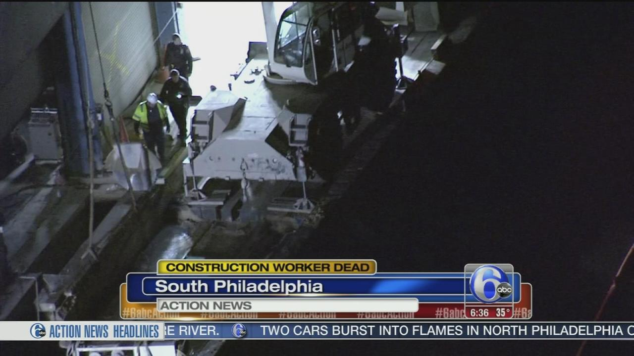 VIDEO: Worker pulled from river dies