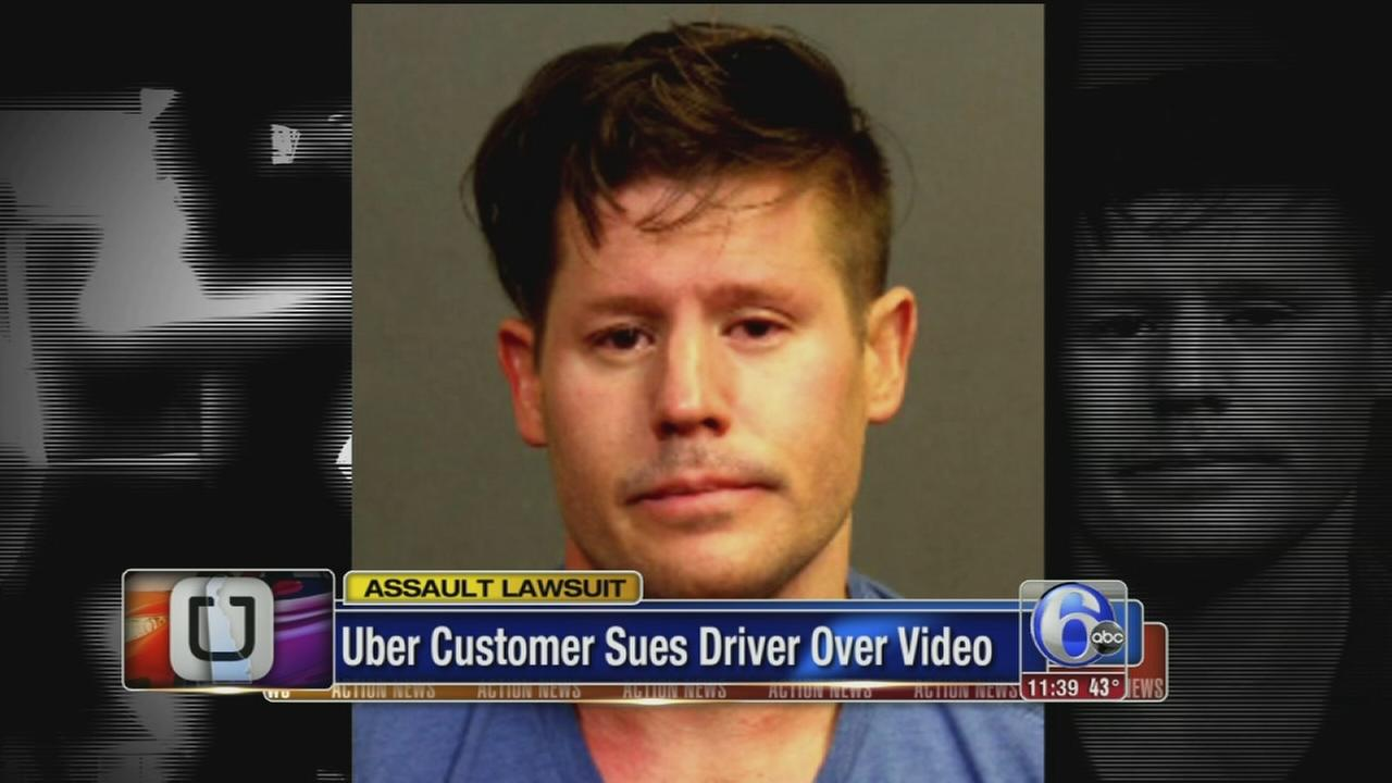 VIDEO: Uber customer sues