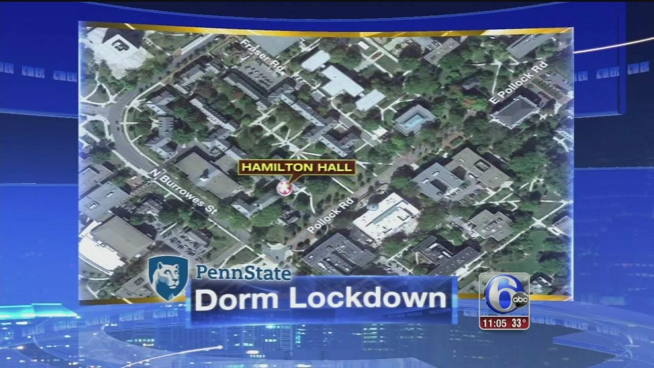 VIDEO: Dorm lockdown