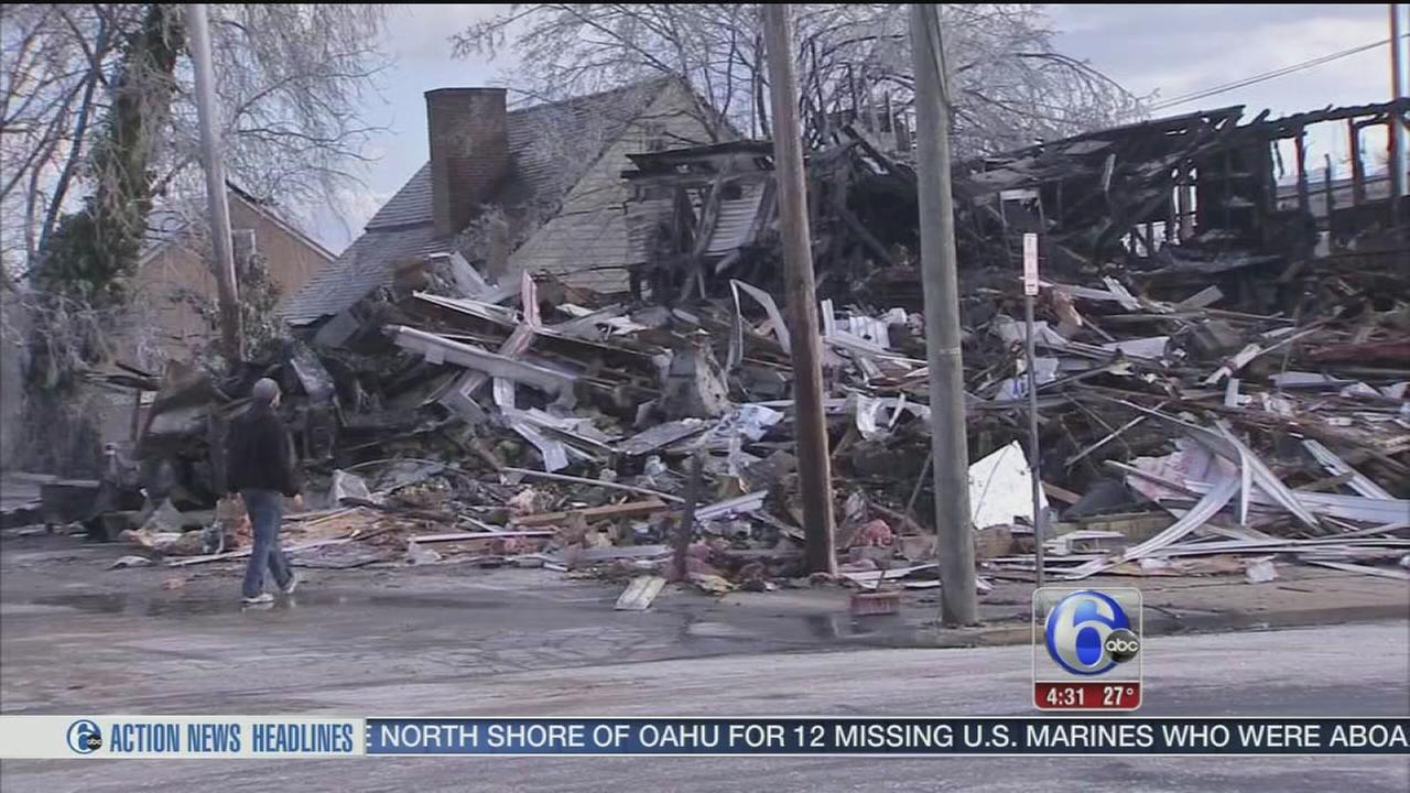 VIDEO: Popular Bridgeton tavern reduced to rubble after fire