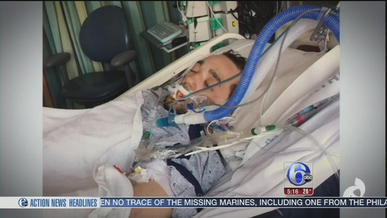 VIDEO: Young man found frozen thanks those who saved his life