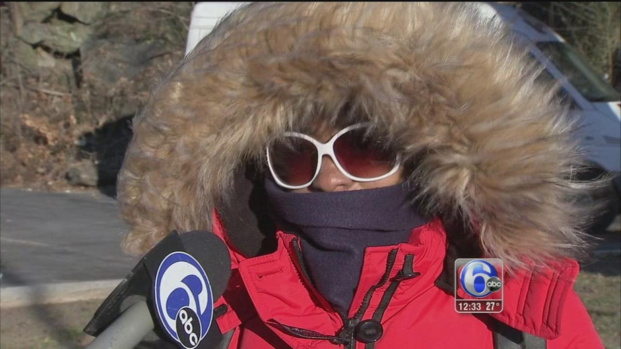 VIDEO: Arctic air receives chilly response