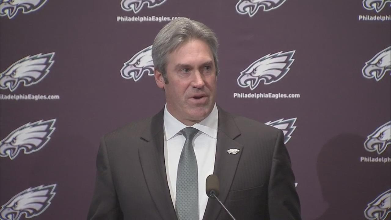 VIDEO: Pederson formally introduced as Eagles head coach