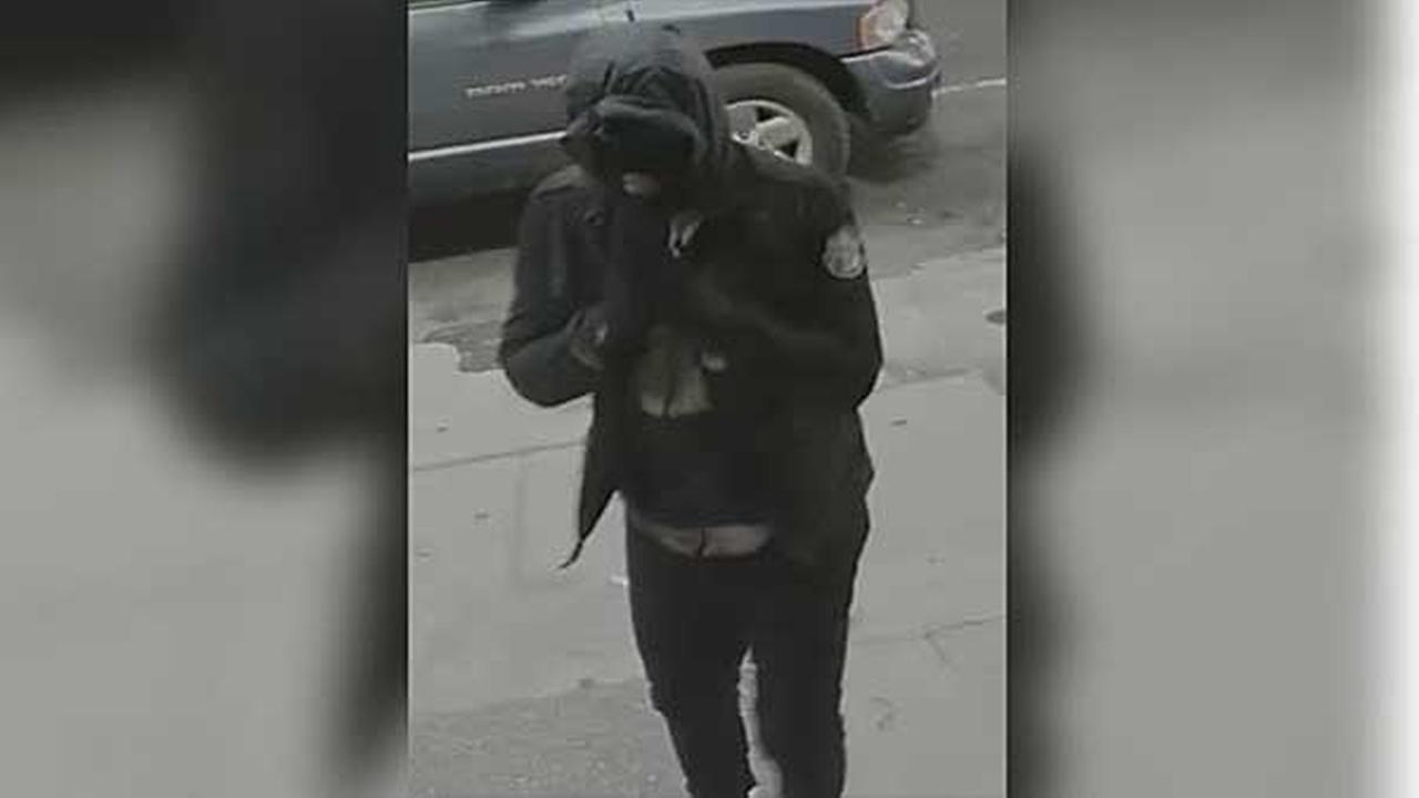 Philadelphia police are on the hunt for two masked men who robbed a cell phone store in the citys Kensington section.