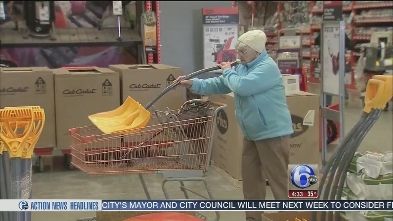 VIDEO: Storm preps in Delaware