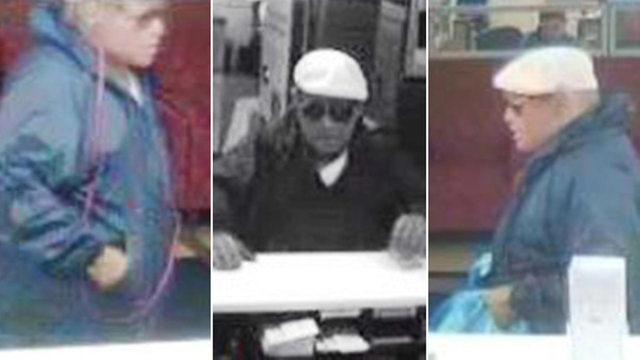 Cameras capture images of Chalfont bank robber