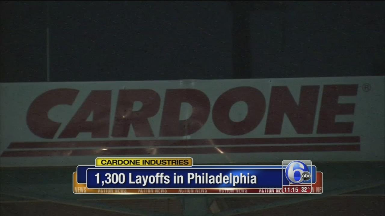 VIDEO: Cardone layoffs