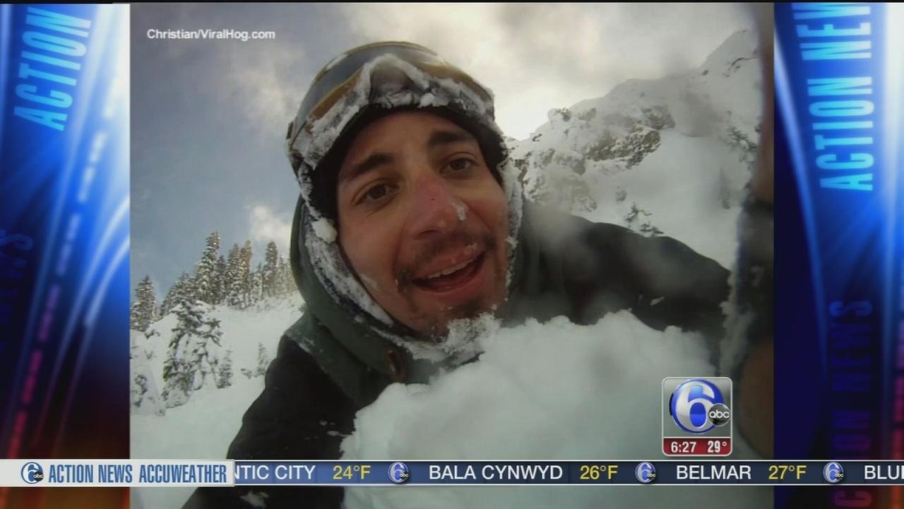 VIDEO:Snowboarder blamed for California avalanche