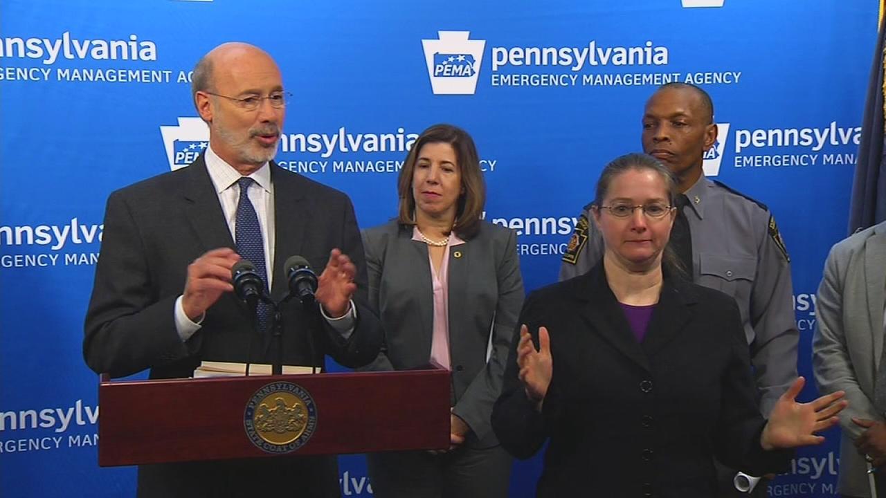 VIDEO: Gov. Wolf urges Pennsylvania to prepare