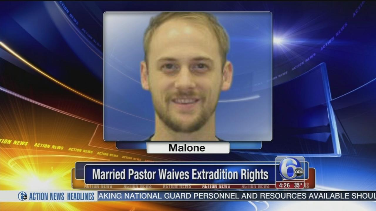 VIDEO: Married pastor waives extradition rights