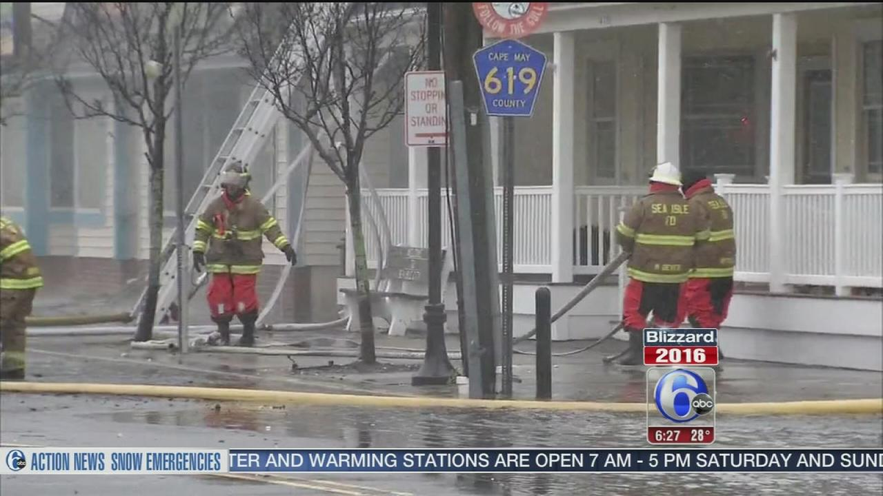 VIDEO: Sea Isle fire