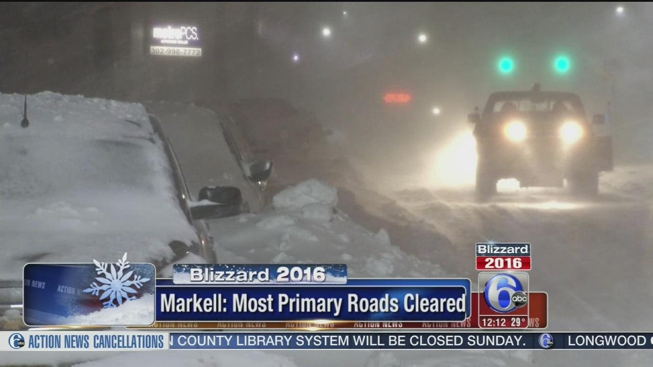 VIDEO: State of emergency remains in effect in Delaware