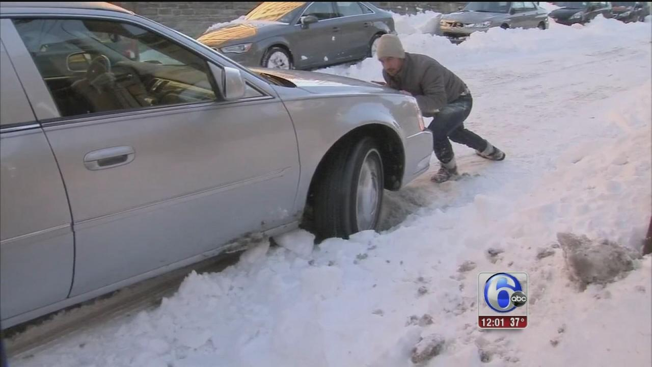 VIDEO: Residents complain about snow covered side streets