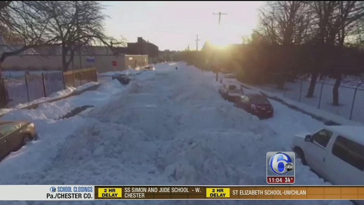 VIDEO: Mystery of missing snow