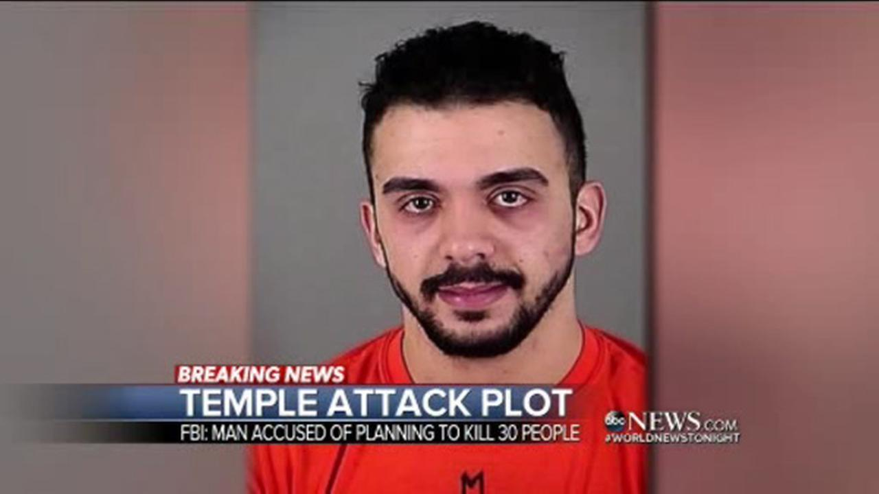 FBI arrests Milwaukee man said to be planning temple attack