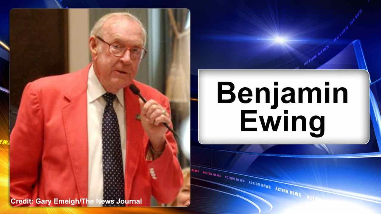 Former Delaware State Representative Ben Ewing struck and killed
