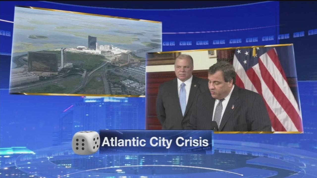 VIDEO: Gov. Christie calls for state takeover of Atlantic City