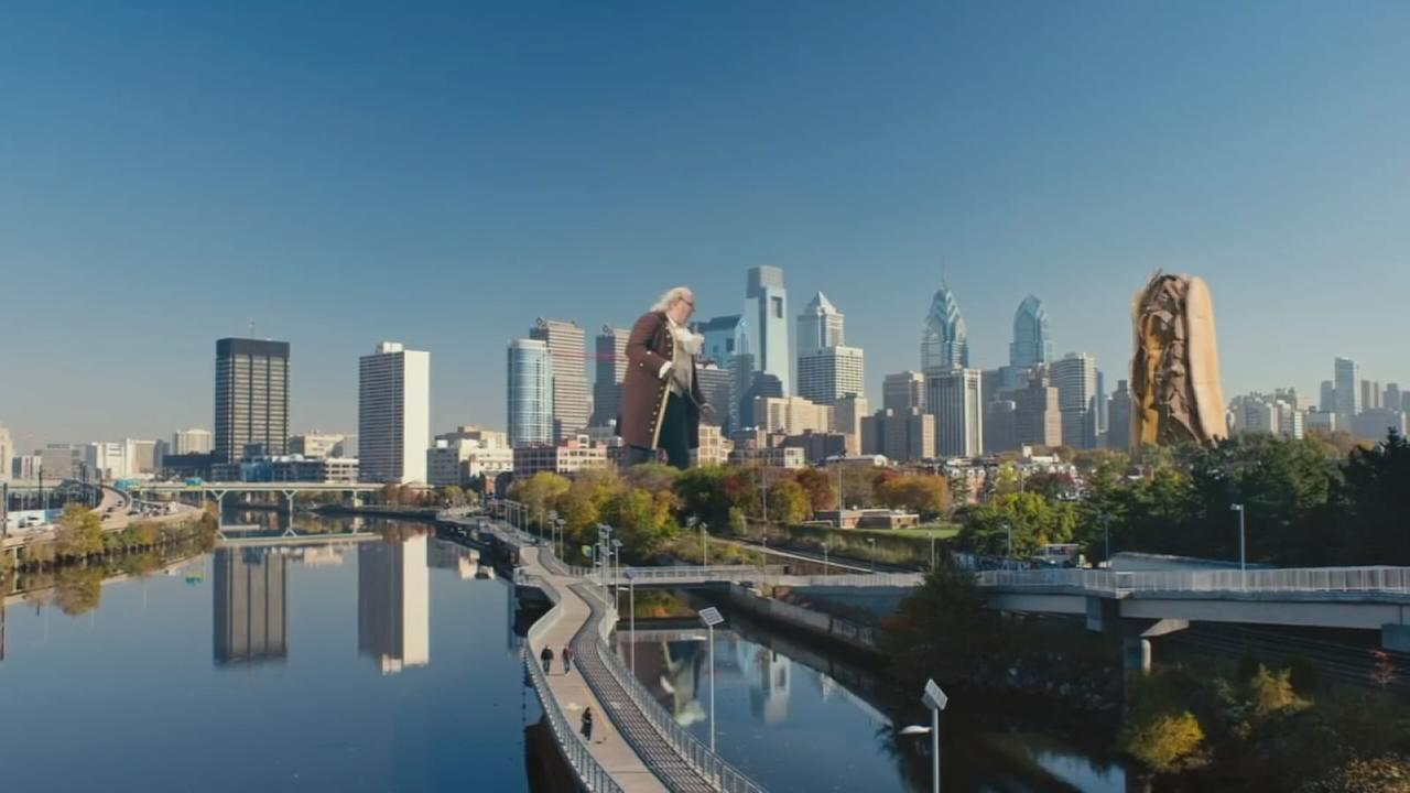 VIDEO: Visit Philly unveils big new ad