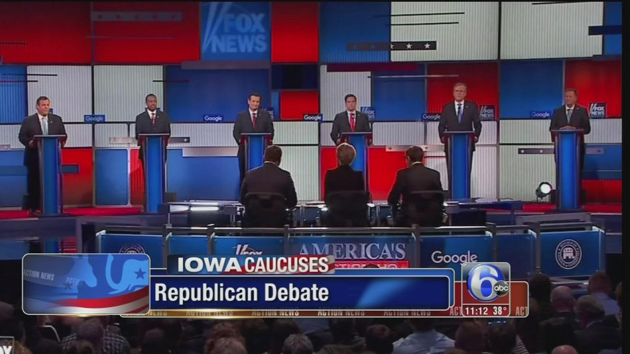 VIDEO: Republican debate without Trump