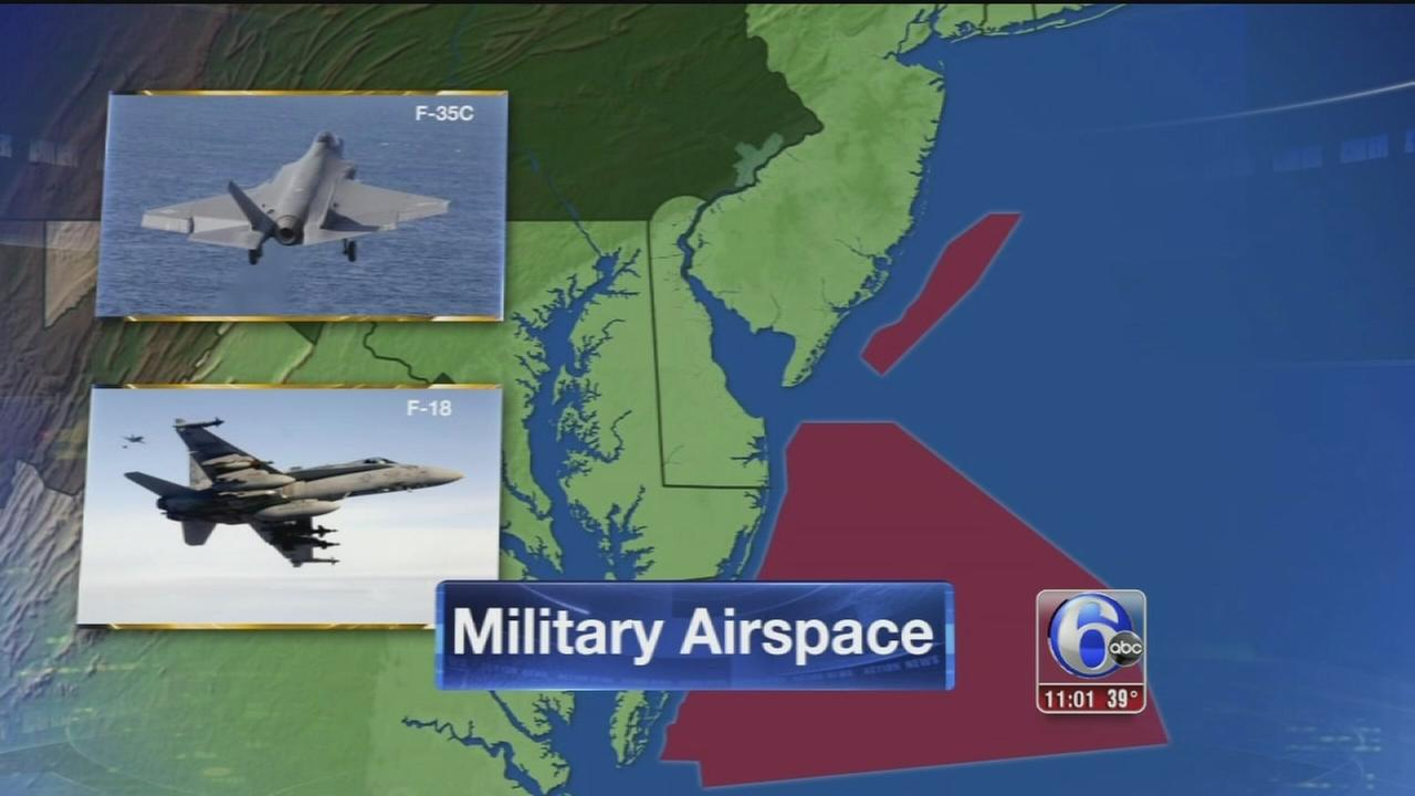VIDEO: Navy: Fighter jets caused sonic booms along New Jersey coast