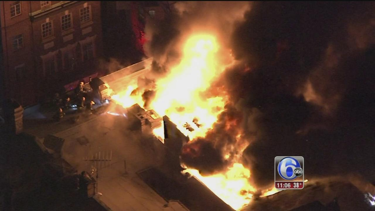 VIDEO: Questions over Center City fire