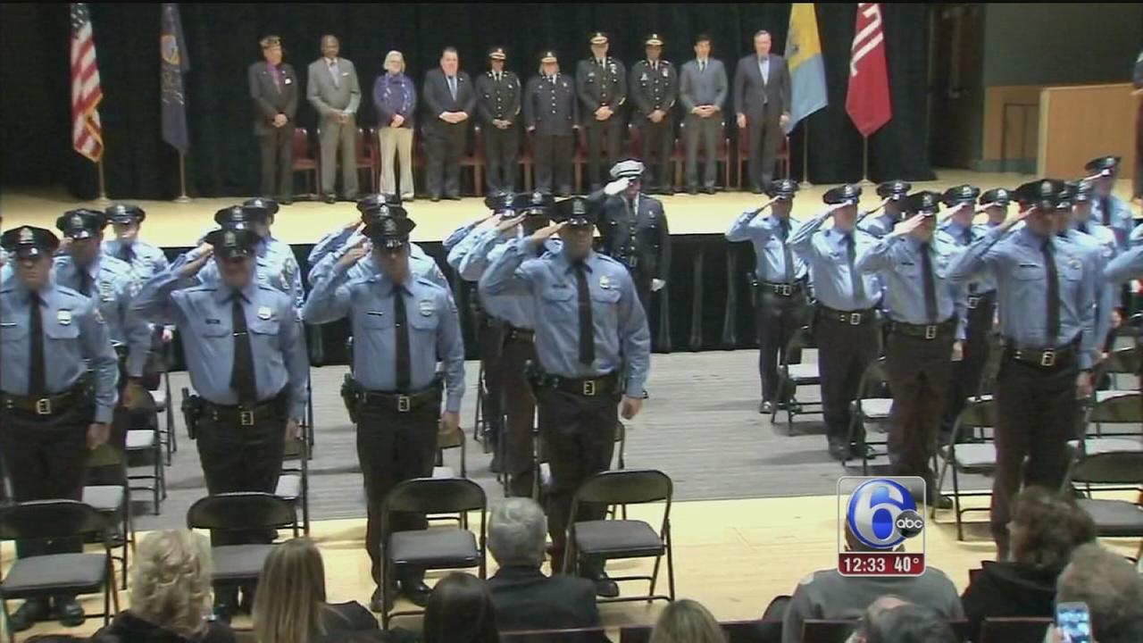 VIDEO: 30 recruits graduate from Philadelphia Police Academy