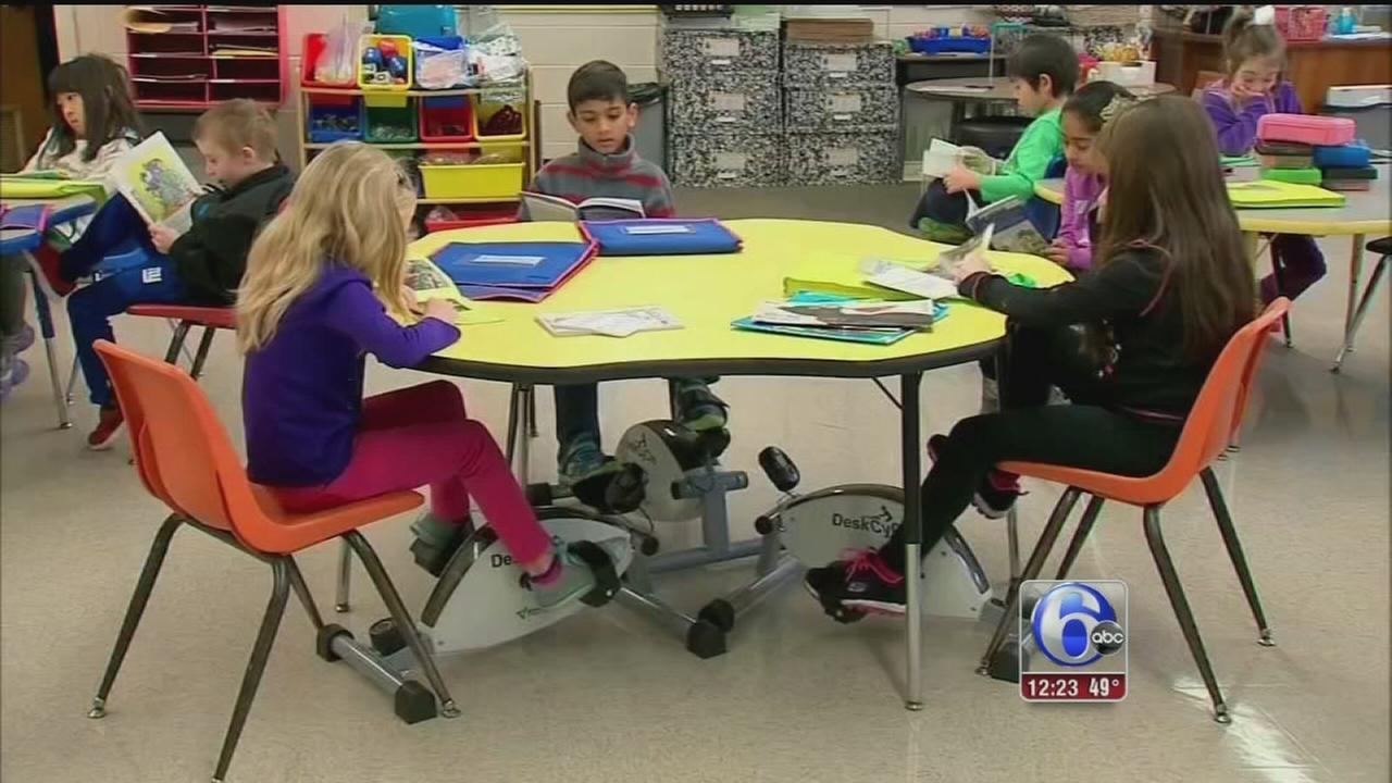 VIDEO: Cycling class helps students
