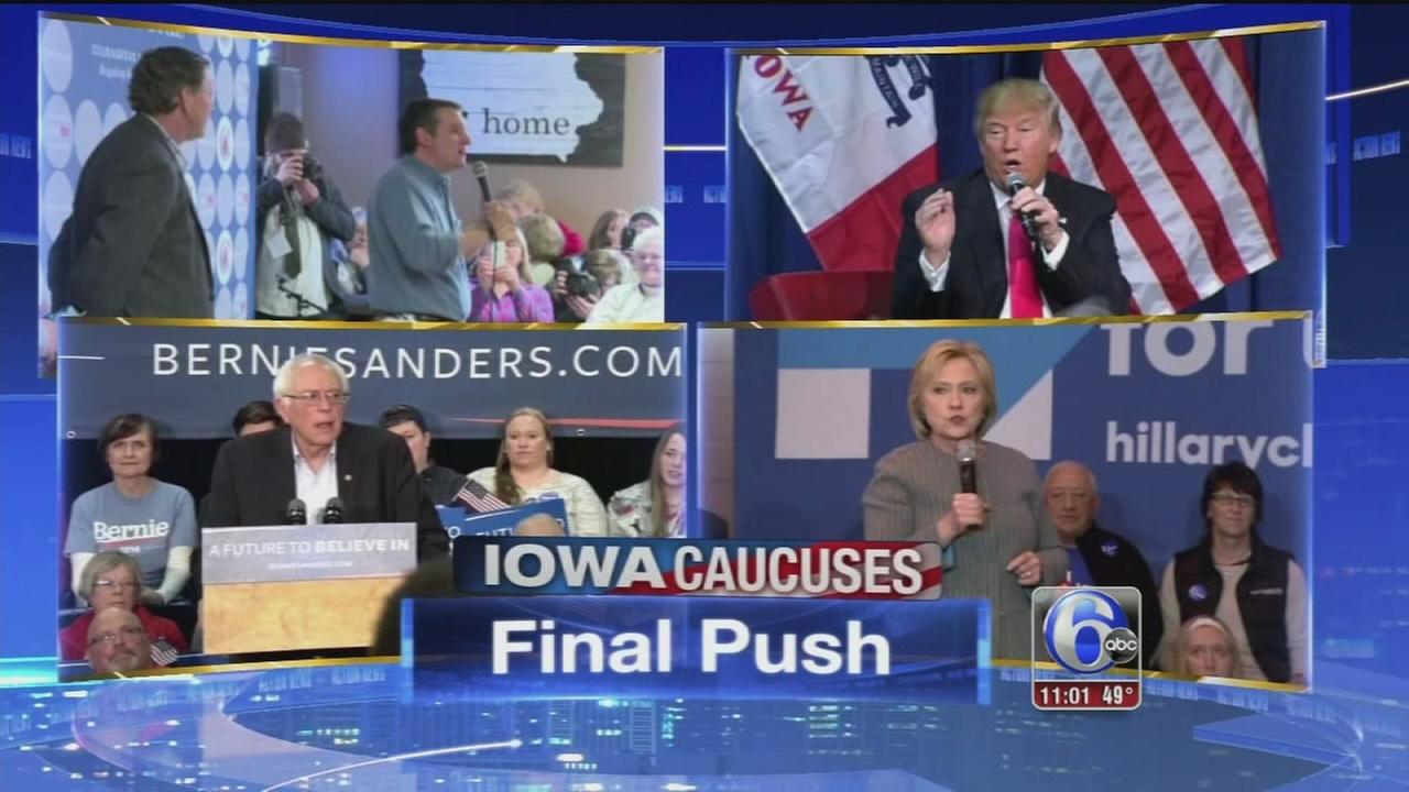 VIDEO: Iowa caucuses