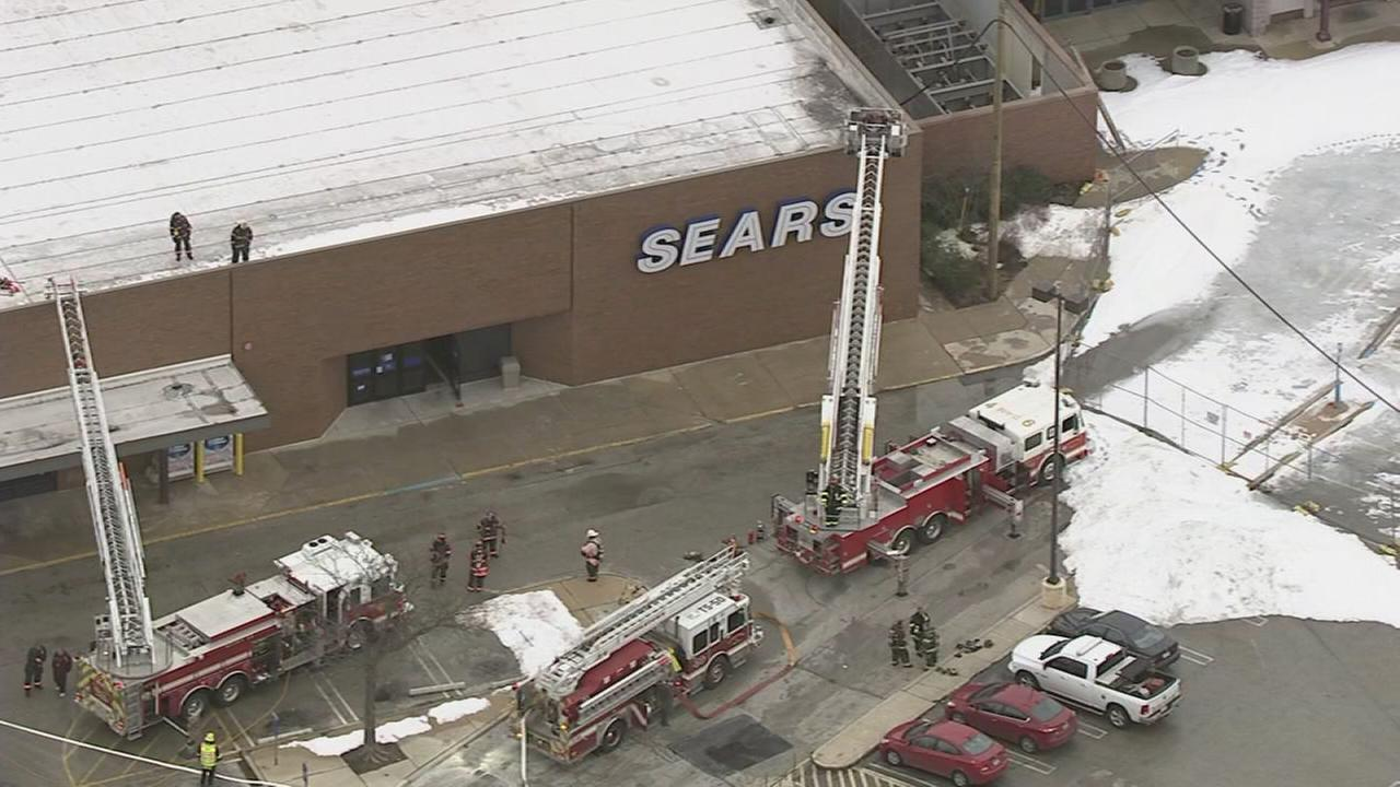 VIDEO: Fire at former Granite Run Mall