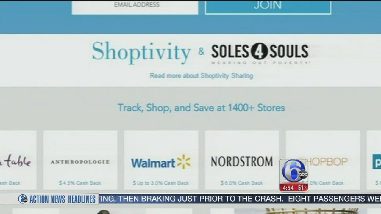 VIDEO: Earn cash back for online purchases with Shoptivity