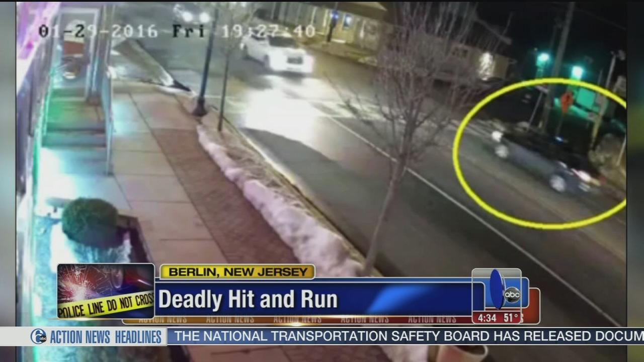 VIDEO: Driver sought in deadly hit-and-run