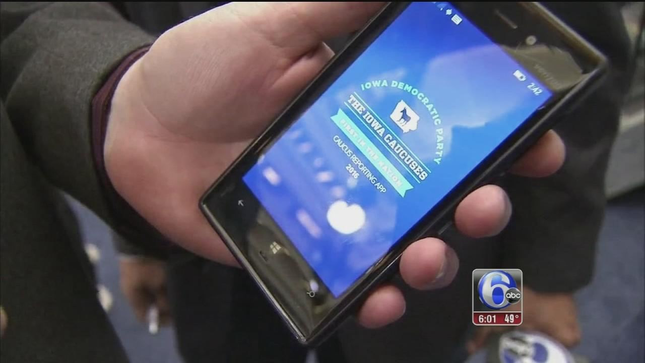 VIDEO: New technology expected to help in Iowa Caucuses