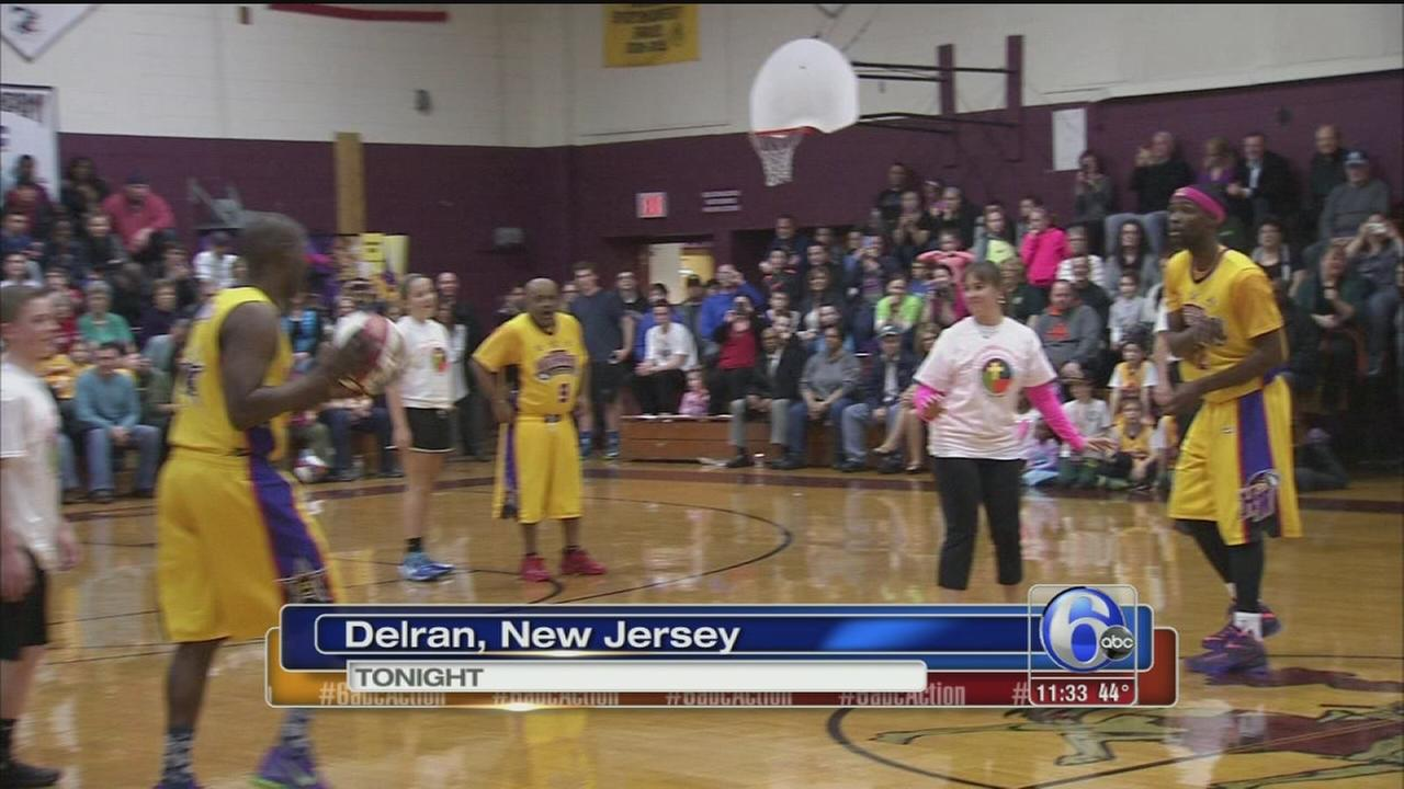Harlem Wizards wow at Holy Cross Academy