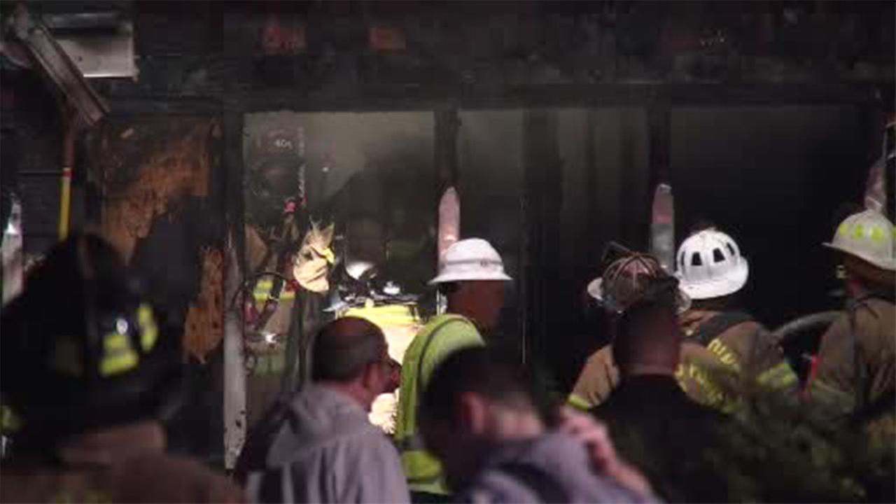2 people hurt in Jersey Shore house blaze