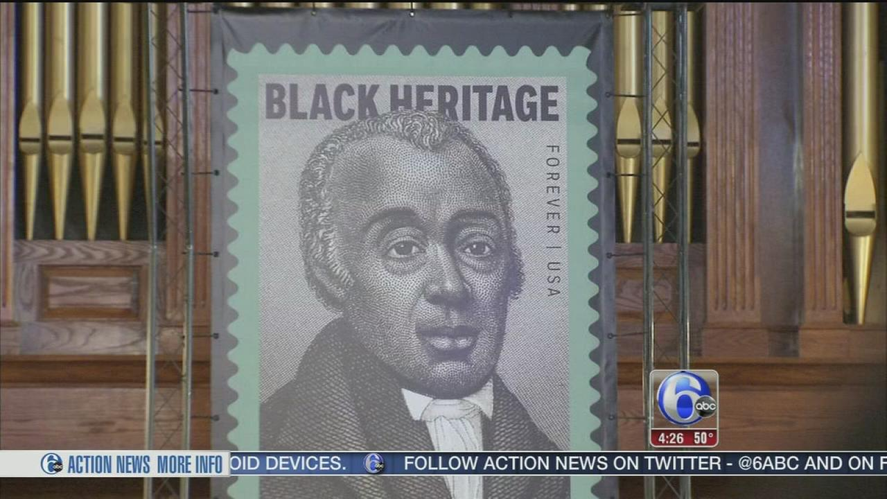 Honoring the founder of the AME Church, Richard Allen.