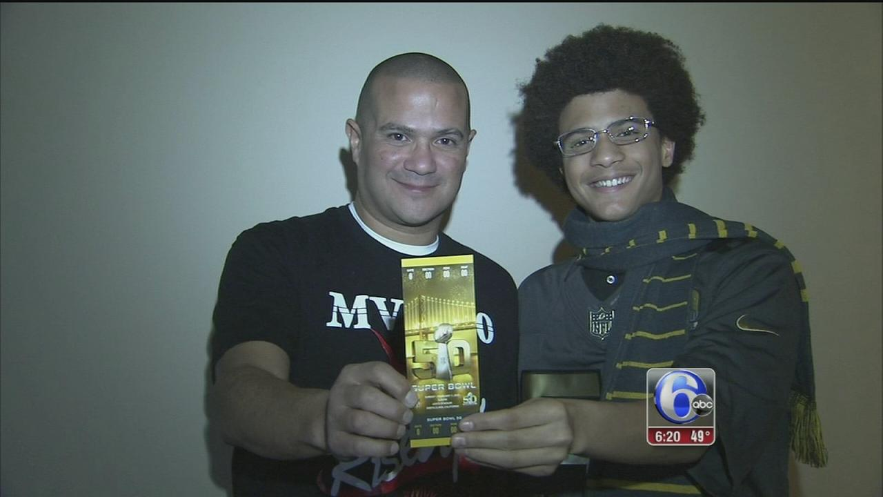 VIDEO: Father, son bonded by football