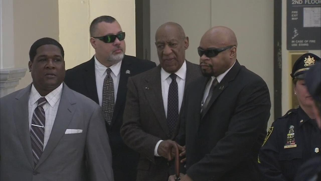 VIDEO: Bill Cosby arrives at Montco courtroom