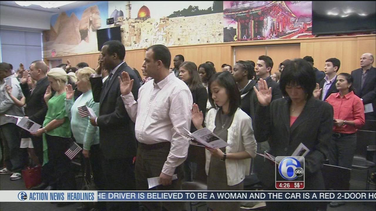 New citizens take oath