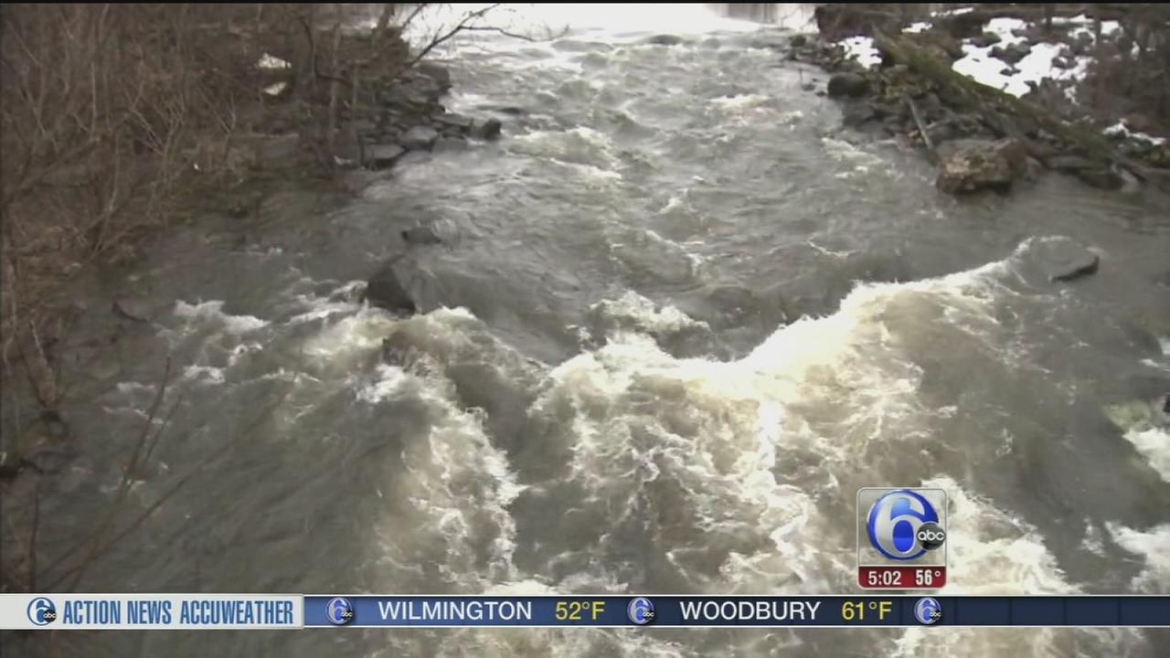 VIDEO: Rain, melting snow combined for flooding concerns