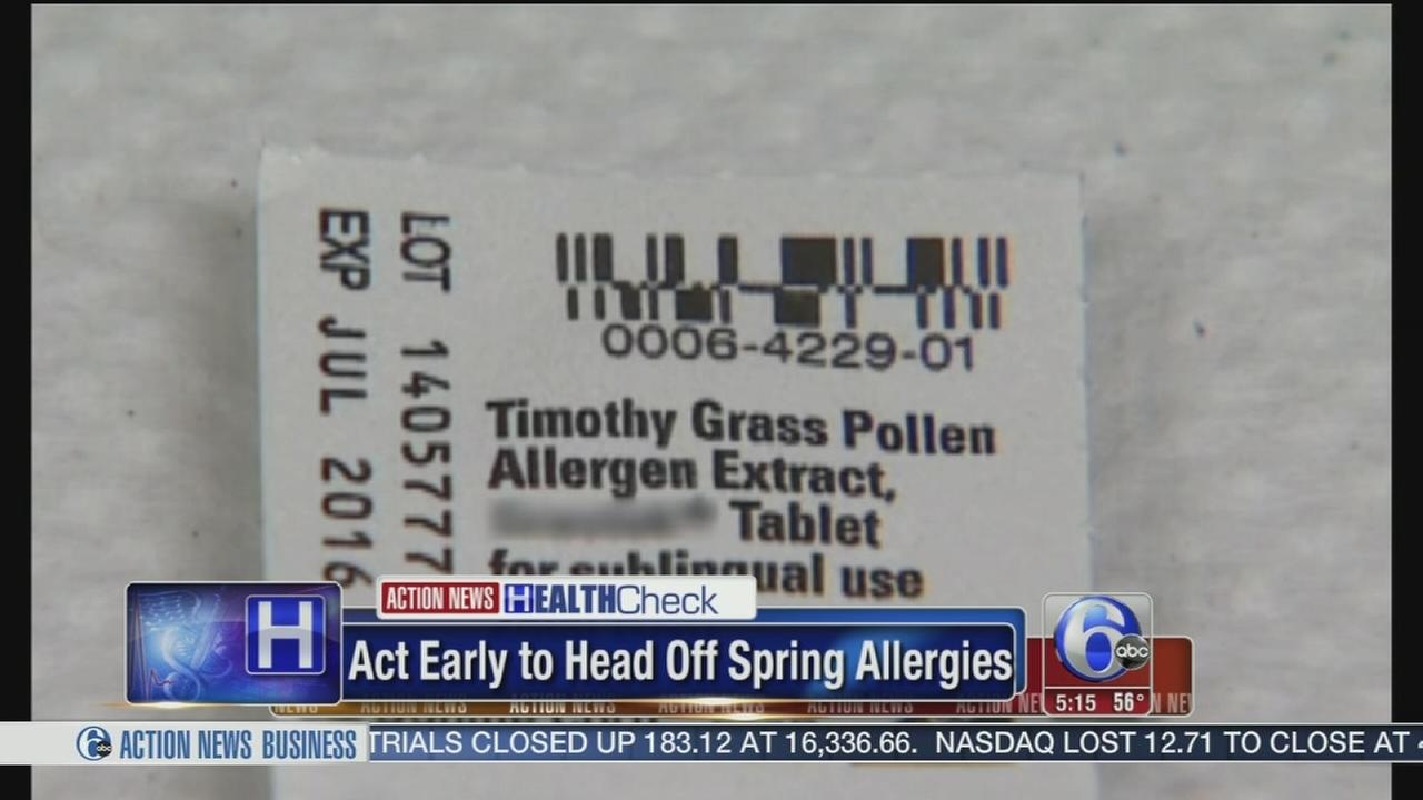 VIDEO: Allergy season