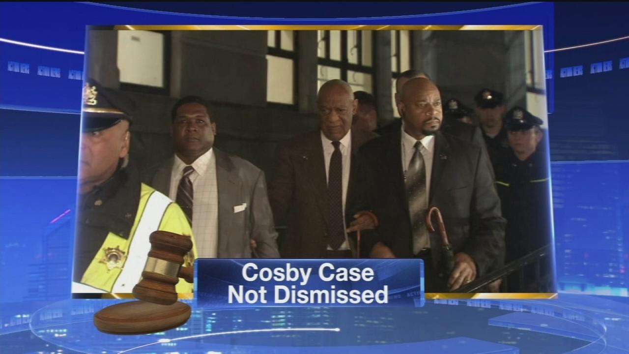 VIDEO: Cosby case NOT dismissed