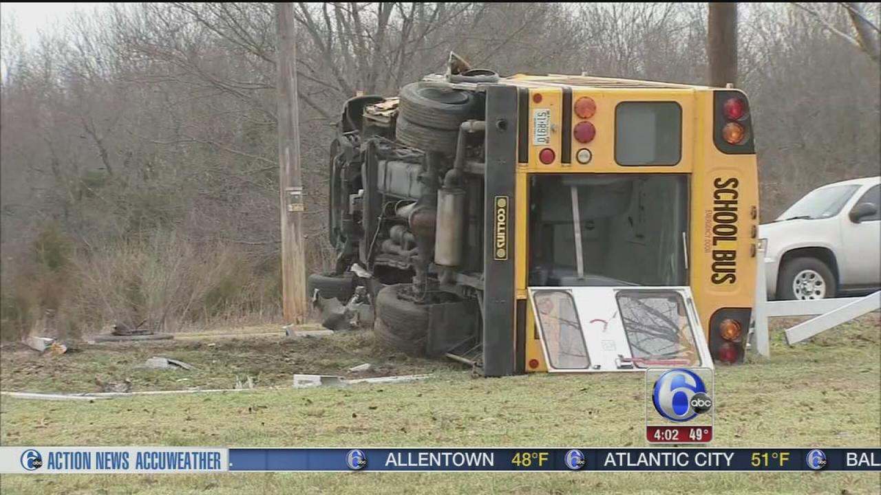 VIDEO: Deadly  school bus crash in Cumberland County
